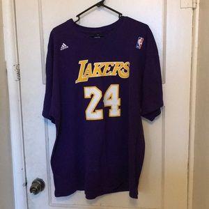 Adidas L.A.Lakers Kobe Bryant Black Mamba T-Shirt